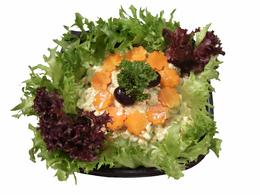 """Ракушка"" гребешки, салат, яйцо, огурец, морковь, кг"