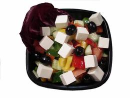 """Греческий"" помидор, огурец, перец, ""Фета"", маслины, кг"
