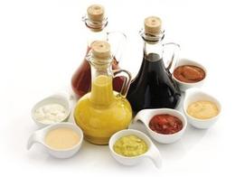 """Соус """"Зелёный"""" для рыбных блюд на основе оливкого масла"""