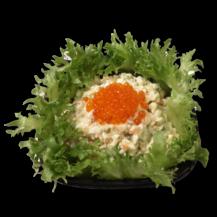 """""""Морской"""" кальмар, яйцо, картофель, огурец, майонез, красная икра, кг"""